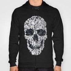 Doodle Skull BW Hoody