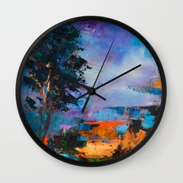 By the Canyon Wall Clock