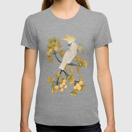 Cockatoo and Ginkgo Tree T-shirt