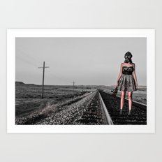 All Dressed Up With No Place Art Print