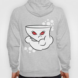 Rep your state AND your strength with an image of a Strong Wing Hurricane White Angry Mad Muscles Hoody