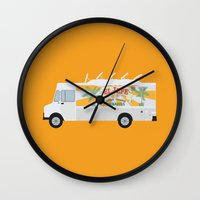 chef Wall Clocks featuring chef by Live It Up