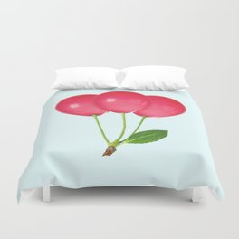 CHERRY BALLOONS Duvet Cover