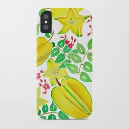 Starfruit Season iPhone Case