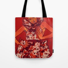 i bring you flowers Tote Bag