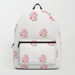Christmas Rose-watercolor Backpack