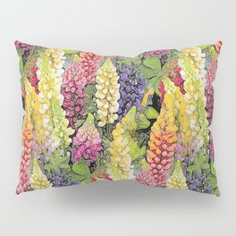Lupine thickets Pillow Sham