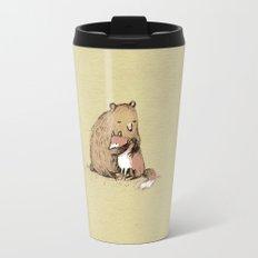 Grizzly Hugs Travel Mug