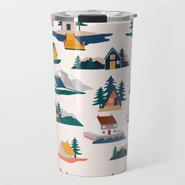 Let's stay here Travel Mug