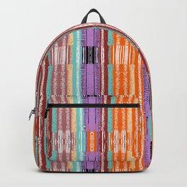 Lines Reed Orange Backpack