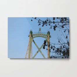 Lions Gate Bridge Metal Print