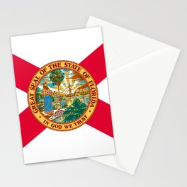 Flag of Florida Stationery Cards