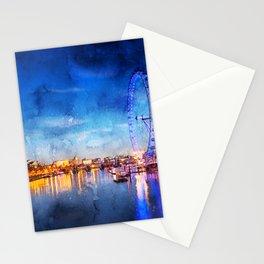 london-eye-ferris-wheel-london Stationery Cards