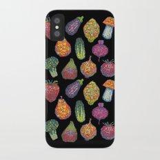 Vitamins (black) iPhone X Slim Case