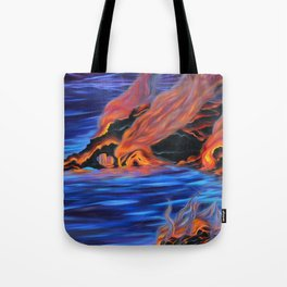 The Dance of Pele & Kanaloa Tote Bag