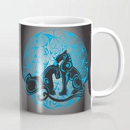 Celtic cats Coffee Mug