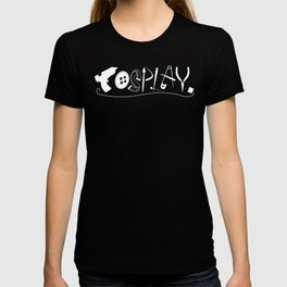 Cosplay (white text) T-shirt