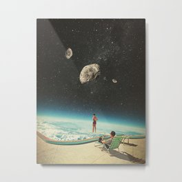 Summer with a Chance of Asteroids Metal Print