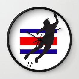 Costa Rica - WWC Wall Clock