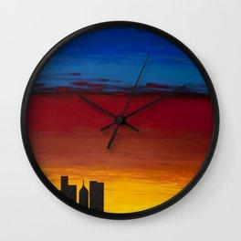 City Morning Wall Clock