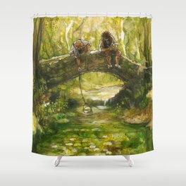 Little Rivers (original) Shower Curtain