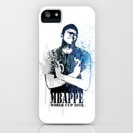 WORLD CUP 2018 FRANCE M07 iPhone Case