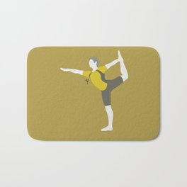 Wii Fit Trainer♂(Smash)Yellow Bath Mat