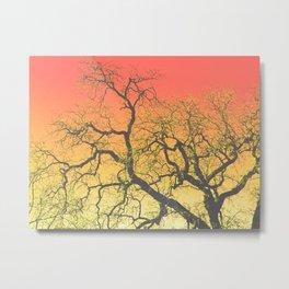 Majestic (Red/Yellow) Metal Print