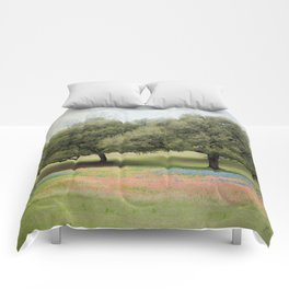 Hillcountry Bluebonnets Comforters