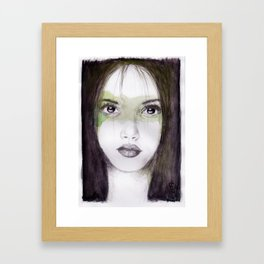 And who gives a damn right now Framed Art Print