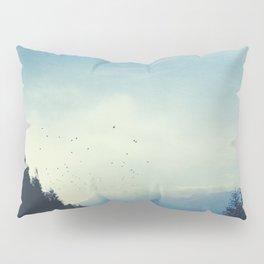 Beautiful Mountain Morning Pillow Sham