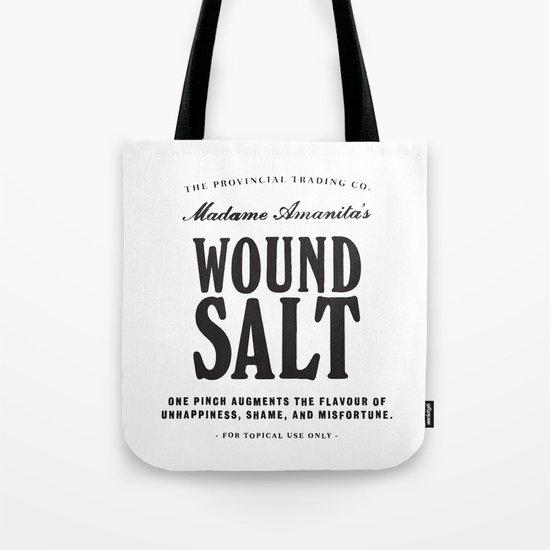 Wound Salt Tote Bag