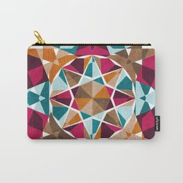 Moroccan Mosaic Carry-All Pouch