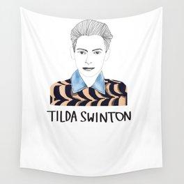 Tilda Swinton Wall Tapestry