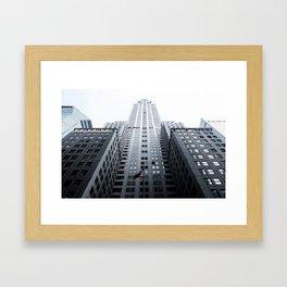 American Skyscraper Framed Art Print