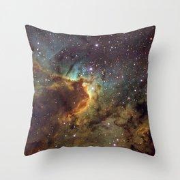 Cave Nebula SH2-155 Throw Pillow