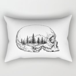 SKULL/FOREST Rectangular Pillow