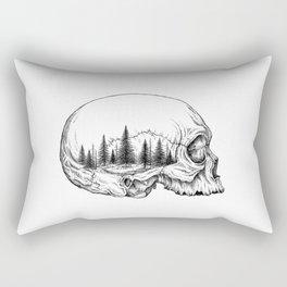 SKULL/FOREST Rectangular Pillow