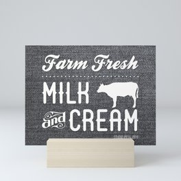 FARM FRESH Mini Art Print