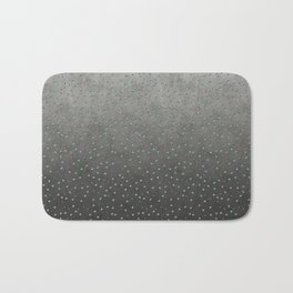 Colorful shimmering faux sequin glamour pattern Bath Mat