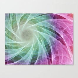 Whirlpool Diamond 2 Computer Art Canvas Print