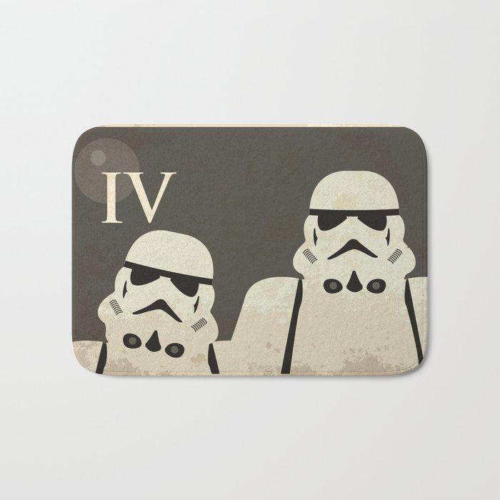 Star Wars Minimal Movie Poster Bath Mat