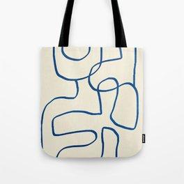 Abstract line art 16 Tote Bag