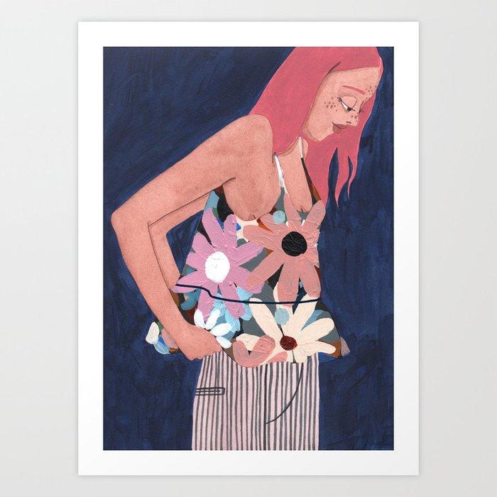 Inbetween Art Print