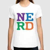 nerd T-shirts featuring Nerd by Jenna Allensworth