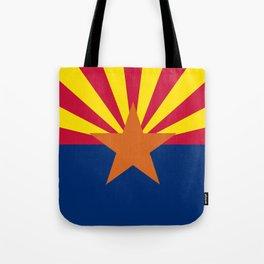 State flag of Arizona, Authentic HQ image Tote Bag