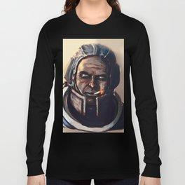 Blind Cosmonaut Long Sleeve T-shirt
