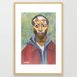 The Tribute Series-Kalief Browder Framed Art Print