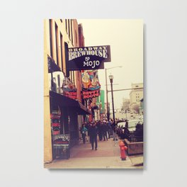Broadway Brewhouse & Mojo featuring Betty Boots Metal Print