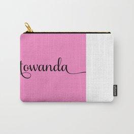Towanda - Pink Carry-All Pouch
